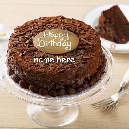 write your name on beautiful happy birthday cake gif - gifaya